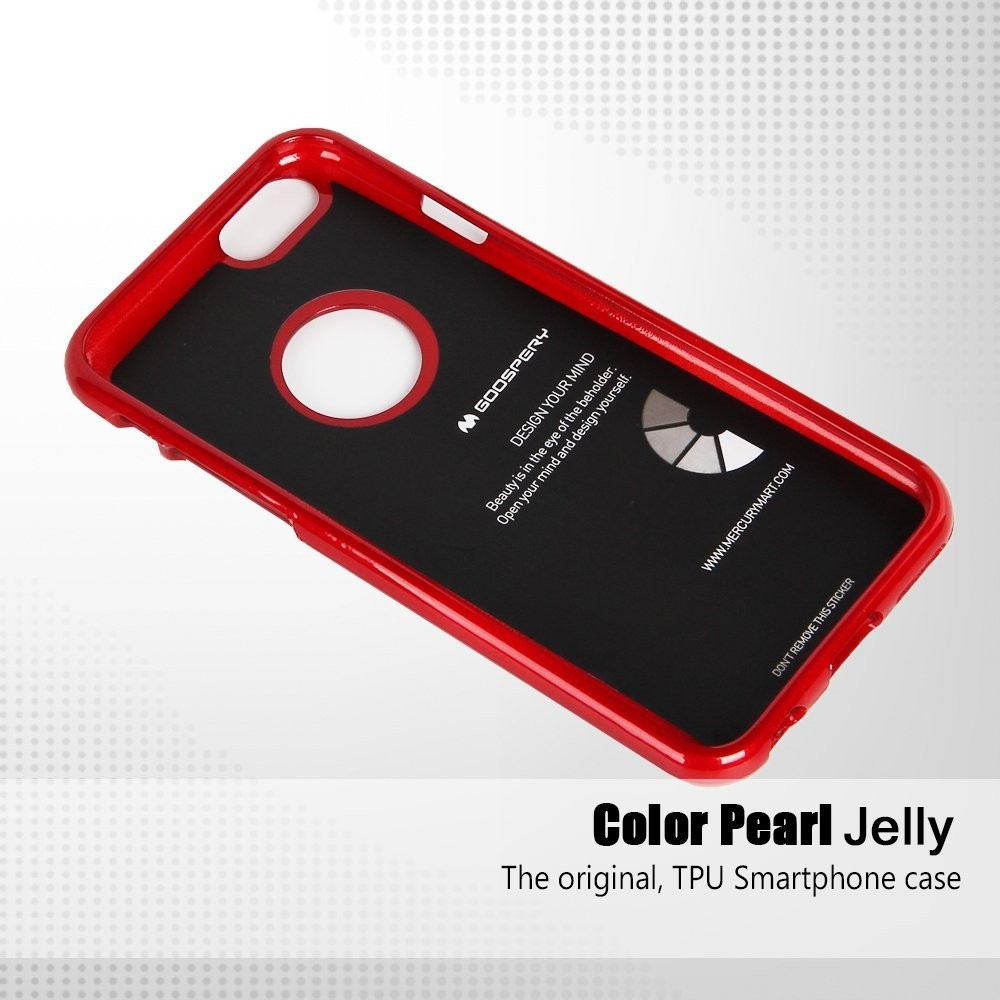 Mercury Goospery Jelly Ultra Thin Case For Iphone 6for 6 7 Pearl Black Plus Cover