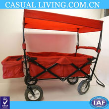 Folding Utility Wagon Garden Cart