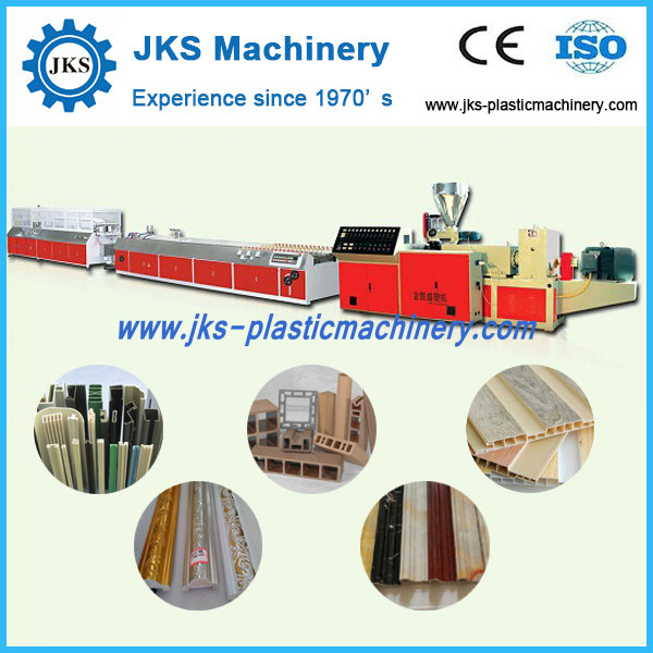 High Efficiency Plastic PVC Strap Making Machine