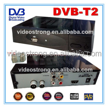 Cheapest MPEG4 H.264 DVB T2 TDT T2 terrestrial free tv channel receiver