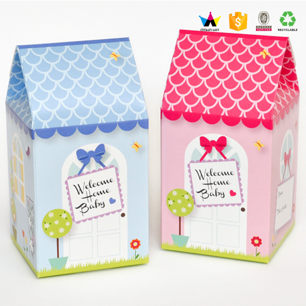 China Supplier Gable Christmas Gift Boxes