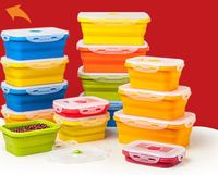 Microwave Oven silicone collapsible box