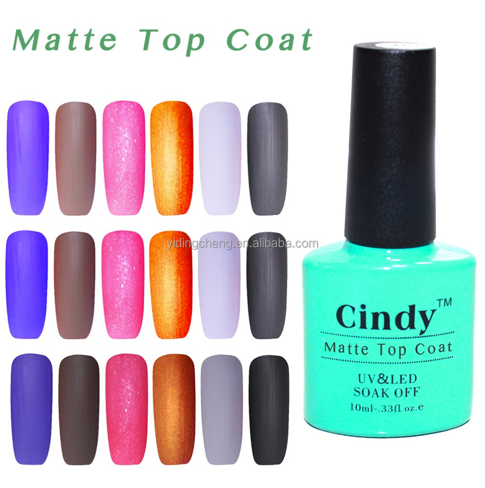 Yidingcheng New Arrival UV/LED Nail Matte Top Coat