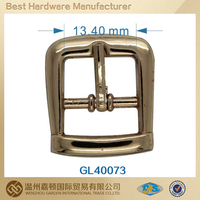 Small Metal Shoe Buckle Ladies Belt
