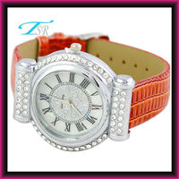 special style same to brand hot in us and Europe with sl68 MOV'T best design 2013 ladies leather wrist watches