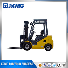 XCMG 7 ton Isuzu engine triplex mast cheap price chinese diesel used forklift for sale