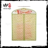 Promotional hanging nonwoven garment bag, hanging nonwoven garment bags, dress bag non woven
