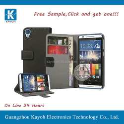 [kayoh] pu leather case flip cover for htc desire 820