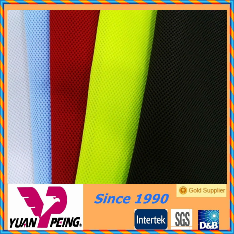moisture regain breathable mesh fabric raw material for shoe making