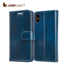 Smart mobile phone Wallet Leather Flip Cover case for iphone X