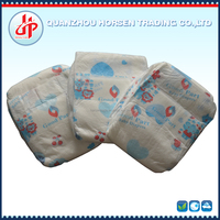 Top quality high absorption clothlike back film disposable baby diaper