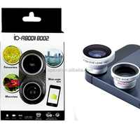 Wholesale product 3 in 1 lens for samsung galaxy macro lens for htc