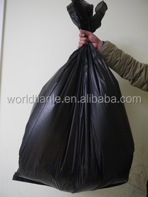 Industrial used heavy duty large plastic trash bag, 110cm*88cm