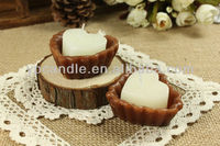 Paraffin Wax White Chocolate Love Gift Candle