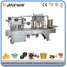 High Quality Tray Filling and Packing Machine for milk