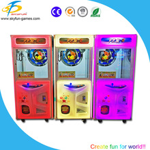 Toy grabbing machine coin operated kids mini toy crane claw machine for sale gifts