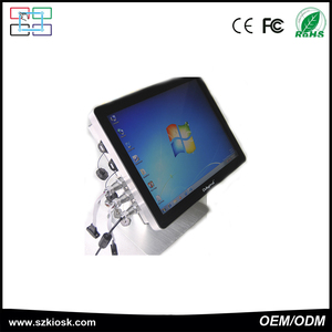 15 inch Customsized IP65 fanless touch pc with waterproof function