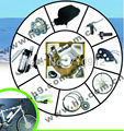 2017 Hot Hot! ORK-MINID Disc Brake MINI Motor Kit Conversion Kit For Mountain Bike CE EN15194 Approved
