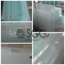 Top Quality Tempered Toughened Heat Soaked Acid Ethced Frosted Glass Fence Panels
