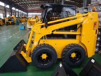China Manufactures 65HP Germany Rexroth Hydraulic Pump 950KG Load Capacity JC65 Skid Steer Loader With AC