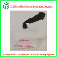 Small Clear Hard Plastic PET Packaging Box For Perfume Bottles