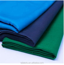High density 65 cotton 35 polyester fabric for nurse uniform fabric doctor clothes fabric