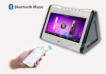Android 4.2.2 portable DVD player wireless microphone/MP3+G MP4 karaoke Quality Choice