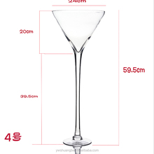 glass champagne flute made in China Customized Gift High Class martini glass