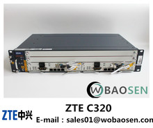 Original New ZTE C320 GPON or EPON OLT PON 8Ports TO 32Ports 2U/GTGO 8port OR GTGH 16port
