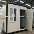 Factory wholesale foldable container house/portable office/modular house