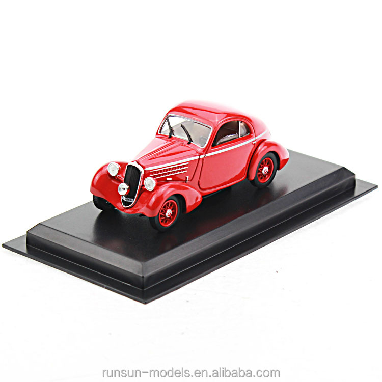 L4053 die cast Fiat 508 Balila 1936 classic model car