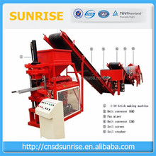 High pressure automatic Eco Brava clay interlock block brick making machine