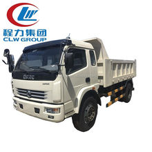 China made tipper truck DONGFENG 2 axle off road dump truck for sale