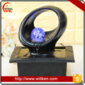 New designs polyresin modern abstract water fountain