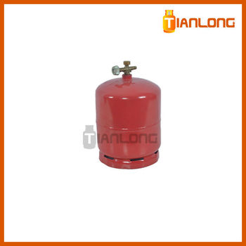 high quality welding 3kg lpg bottle for filling propane