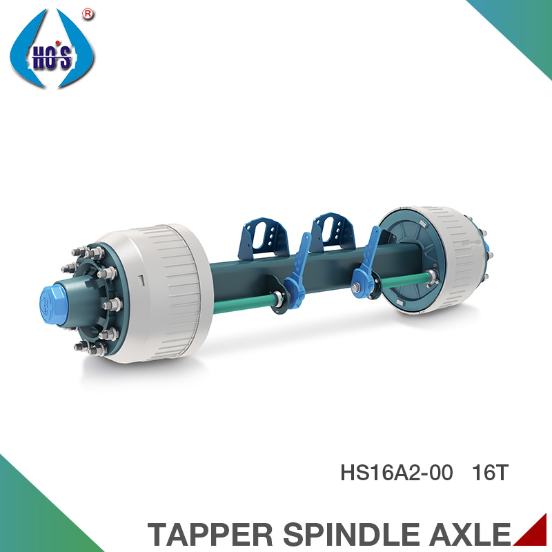 Germany Style High Quality Self-Steering Front Trailer/Truck Axles