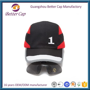 new dry fit mesh sport cap with glasses