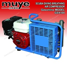 6L 300bar/18min,12L 200bar/24min breathing scuba air compressor model GSX100