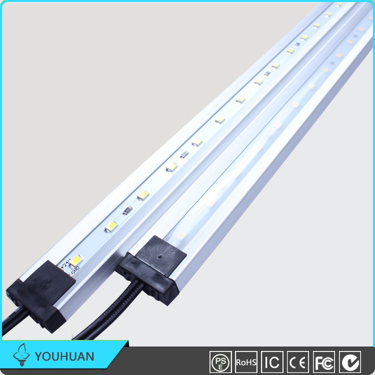 Commercial 60 <strong>Leds</strong>/m SMD2835 Aluminum Profile Rigid Strip <strong>Led</strong> Linear Light For Cabinet