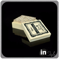 heat treated wood, card making stamps, custom rubber ink stamps