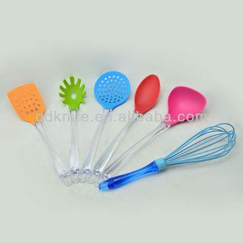 6pcs color kitchen utensils set kitchenware color kitchen for Kitchen tool set of 6pcs sj