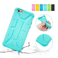 Best Selling Colorful Shockproof Soft Silicone TPU Phone Case For iPhone 6