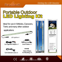 PanaTorch Outdoor Portable Hanging LED Camping strip kit PS-C5521A-1 3 years warranty for patio and vans