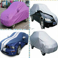 Silver Coated Polyester Waterproof Car Cover Fabric