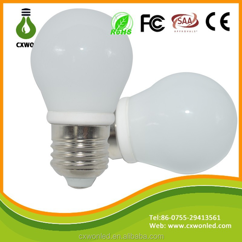 Low cost 30w equivalent G45 led bulb light e27, SMD2835 led bulb light wholesale