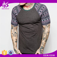 2016 OEM manufacturer custom 140g 100% Cotton O-neck short sleeve skin tight t shirts for men