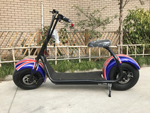 1500W brushless motor heavy duty fast electric motorcycle 2 wheel citycoco electric scooter for adults