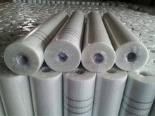 Glass fiber plaster mesh for concrete blocks