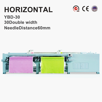 YBD30 Horizontal Quilting Embroidery Machine thick materials available