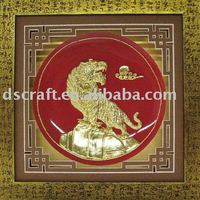 Lacquer carving craft